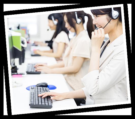 製品ご購入後も万全の相談サポートお困りごとメンテナンスサービス